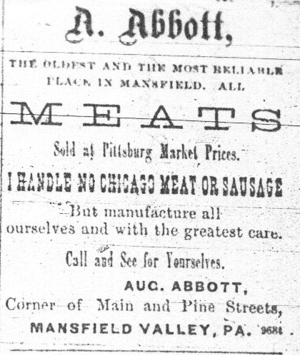 Abbott Packing Plant Advertisement