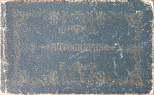 Maggie Jacob's Autograph Book, Cover