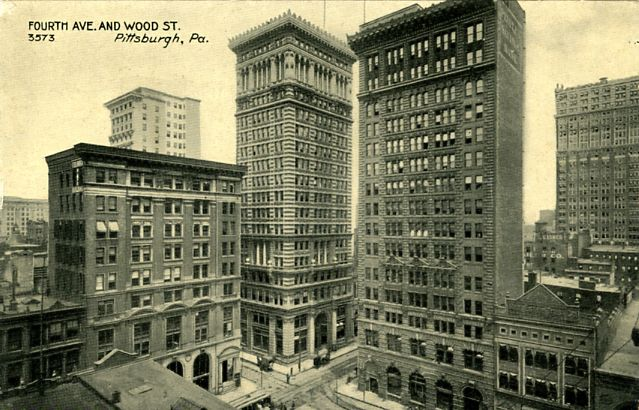 Fourth Avenue and Wood Street, Pittsburgh, Pennsylvania