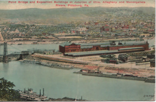 Western Pennsylvania Exposition, viewed from afar