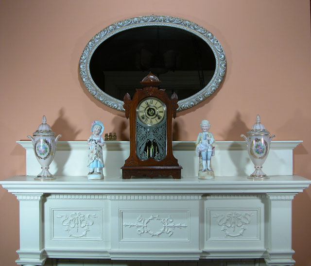 Janice Donley's Dining Room Mantle