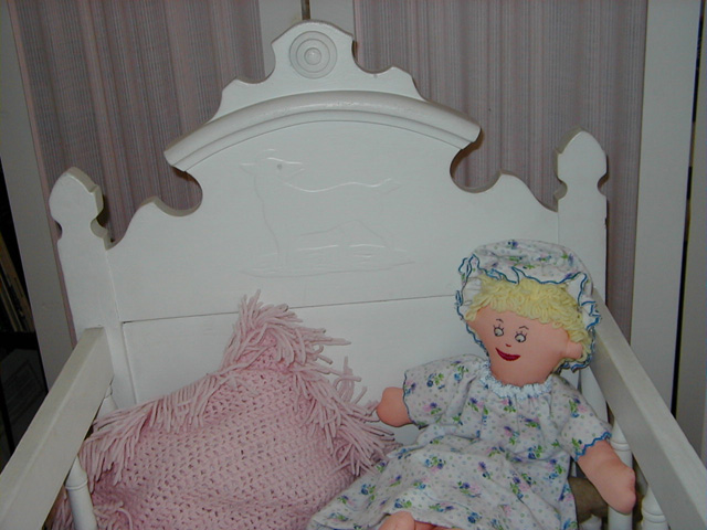 Abbott Family Cradle Headboard