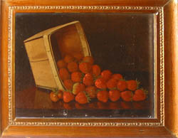 Another Oil Painting of strawberries